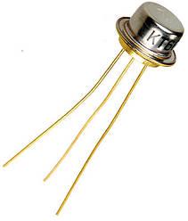 КТ608А транзистор NPN (400mA 60В) Au (ТО5)
