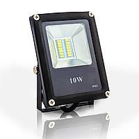 Светодиодный прожектор 10w Eco 550Lm 6500K IP65 SMD (ЛЕД прожектор уличный)