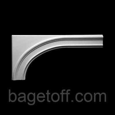 Обрамление арочного проема  Европласт 1.55.001, лепной декор из полиуретана - Bagetoff.com в Киеве
