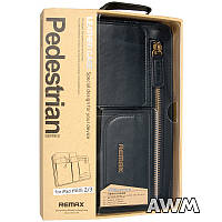 Чехол Remax Leather Case Pedestrian для Apple iPad mini 2/3 черный