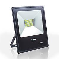 Светодиодный прожектор 70w Standart 6400K IP65 5600Lm SMD (LED прожектор уличный), фото 1