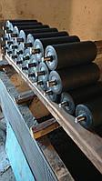 Ролик конвейерный Ø76 мм; L160 …465 мм