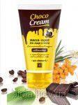 Choco cream маска-скраб для лица и тела восстанавливающая со скрабируюшими частицами кофе 140г