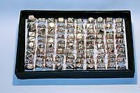 Печатки под золото, ассорти, в упаковке разные размеры,100 шт.