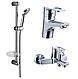 Набор смесителей LIDICE для ванны, IMPRESE05095+10095+штанга R670SD+ 1115+W100SL1 C+ПОДАРОК, фото 2