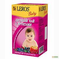 LEROS baby Детский чай с фруктами № 20 по 1,5 г.