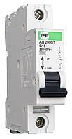Автоматический выключатель АВ2000 D 100A 1p