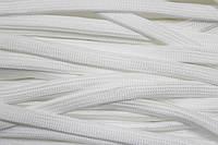 Шнур плоский 10мм (100м) белый , фото 1