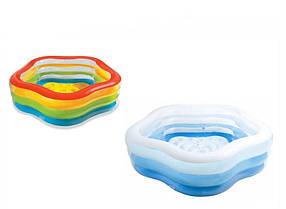 """Детский надувной бассейн """"Звездочка"""" Intex 56495,185х180х53см, фото 3"""