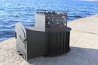 Печь для бани на дровах (каменка)