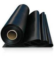 Пленка черная Союз 110 мкм 3м (6м в развороте)х50м (Высший сорт) вес 30 кг
