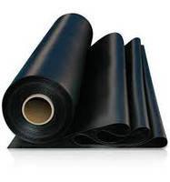 Пленка черная Союз 120 мкм 3м (6м в развороте)х50м (Высший сорт) вес 32 кг