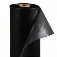 Пленка черная  50 мкм 1,5 м (3м в развороте)х100м для мульчирования, строительства