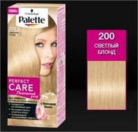 Краска для волос Palette Perfect Care 200 Светлый Блонд