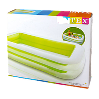 "Детский надувной бассейн ""Изумруд"" Intex 56483,262х175х56см"
