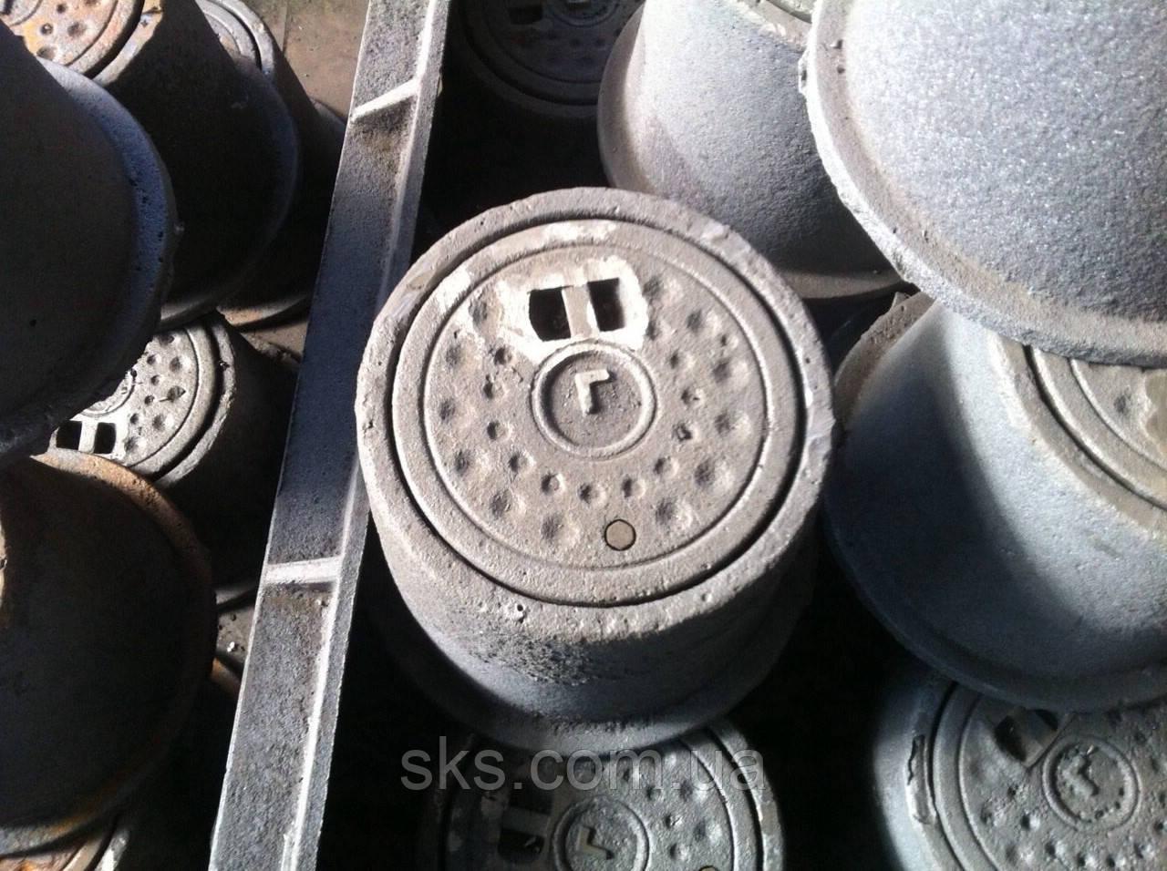 Ковер газового колодца в сборе