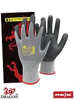 Рабочие перчатки из нейлона и углерода, 7-10 размеры, Польша