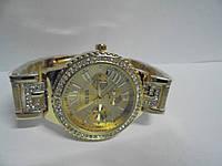 Часы наручные женские Gues(золото),часы наручные Гуес, женские наручные часы, мужские часы