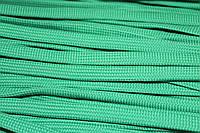 Шнур плоский 10мм (100м) зеленый трава , фото 1