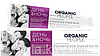 Органическая зубная паста день&ночь безопасное отбеливание, серия Organic People