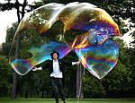 Жидкость для мыльных пузырей (нелопающиеся пузыри)