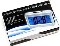 Настольные электронные часы, термометр, календарь КК 2616, фото 1