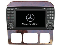 Штатная магнитола для Mercedes Benz S W220 S280 / CL W215