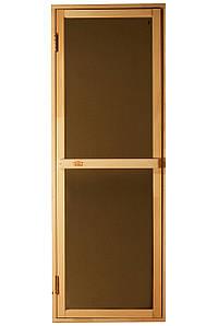 Дверь для сауны «Bravo - Sateen»