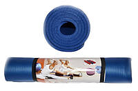 Коврик для йоги и фитнеса. Размер 185 х 80 х 1 см.