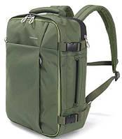"""Замечательный рюкзак для путешествий 20 л. с отделением для ноутбука 15,6"""" Tucano Tugo M BKTUG-M-V зеленый"""