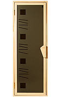 Дверь для сауны «Альфа-Арт»
