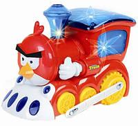 Музыкальный паровозик Angry Birds LD-879A
