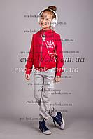 Детский спортивный трикотажный  костюм АДИДАС