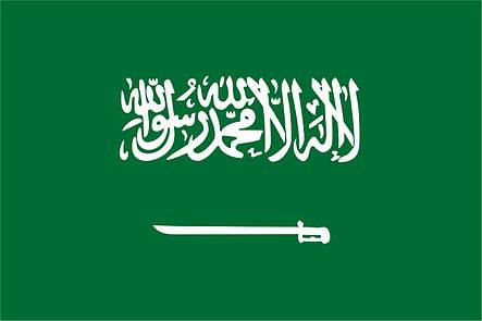 Флаг Саудовской Аравии (Аппликация) - (1м*1.5м), фото 2
