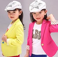 Стильний піджачок для маленьких модниць