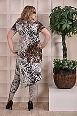 Леопардовые лосины больших размеров 011 48-74, фото 3