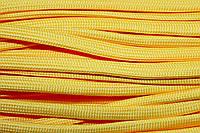 Шнур плоский 10мм (100м) желтый , фото 1