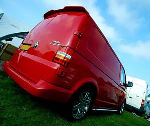 Спойлер козырек тюнинг Volkswagen T5 на распашную дверь