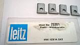 Ножи твердосплавные сменные 12*14.5*2 R=2,5 Leitz немецкие на проходные станки Brandt 340, Brandt 335, фото 3