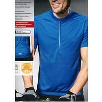 Велофутболка Crivit sport синяя короткий рукав 43808
