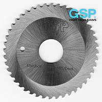 Фрезы дисковые пазовые для металла GSP DIN 1838 C 100x1,0x22 Z=64 С HSS/DMo5 крупный зуб