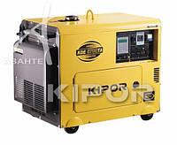 Генератор дизельный KIPOR KDA 6700TAO (4,5 кВт)