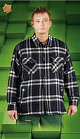 Рубашка рабочая мужская KFTOP Рубашка теплая, фото 1