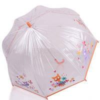 Зонт-трость детский механический облегченный  ZEST (ЗЕСТ) Z51510-15