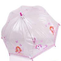 Зонт-трость детский механический облегченный  ZEST (ЗЕСТ) Z51510-16