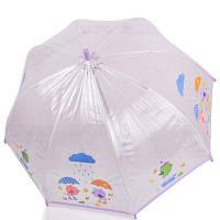 Зонт-трость детский механический облегченный  ZEST (ЗЕСТ) Z51510-18