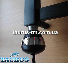 Электрический ТЭН черный TERMA REG3 BLACK для полотенцесушителя с регулировкой 45 и 60С. Подсветка; Польша 1/2