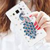 """Samsung J5 (2015) J500H оригинальный PC чехол панель накладка бампер прозрачный со стразами для телефона PAWO"""", фото 3"""
