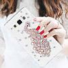 """Samsung J5 (2015) J500H оригинальный PC чехол панель накладка бампер прозрачный со стразами для телефона PAWO"""", фото 4"""
