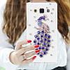 """Samsung J5 (2015) J500H оригинальный PC чехол панель накладка бампер прозрачный со стразами для телефона PAWO"""", фото 5"""